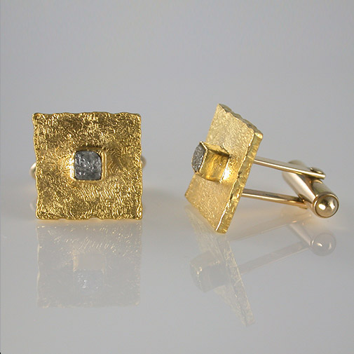 24k, 14k, raw diamond